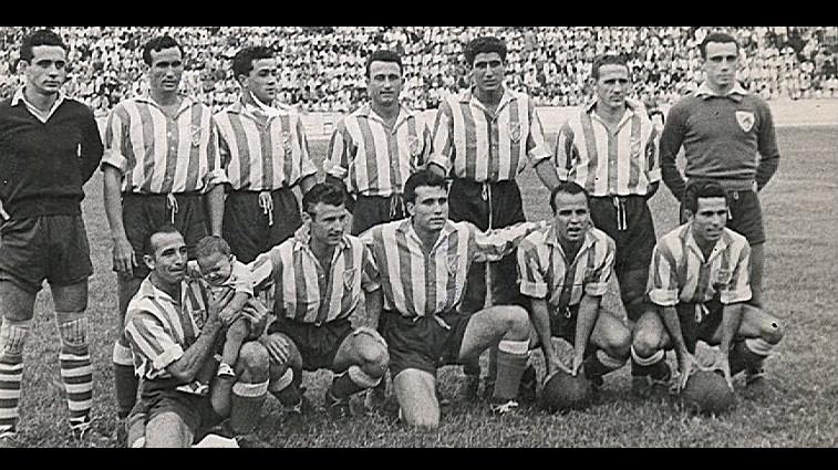 Moghreb de t touan le club qui voluait dans la liga espagnole zamane - Coupe de la liga espagnol ...