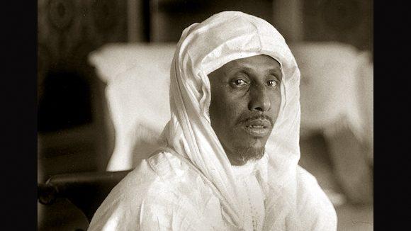 El Glaoui (1875-1956), pacha de Marrakech (Maroc), vers 1925.     RV-643535